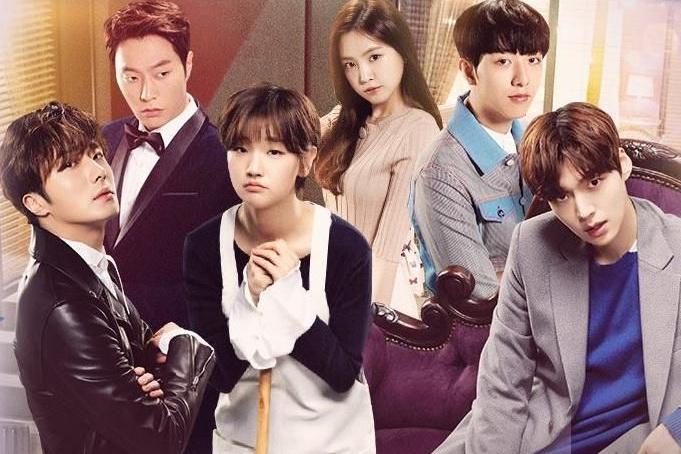 Drama Korea Cinderella and Four Knights Sub Indo 1 - 16
